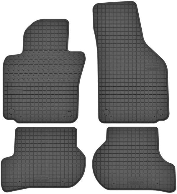Skoda Octavia II (2003-2013) gummimåttesæt (foran og bag)
