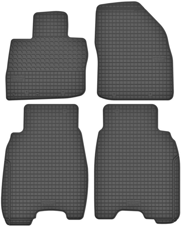 Honda Civic VIII Hatchback (2006-2012) gummimåttesæt (foran og bag)