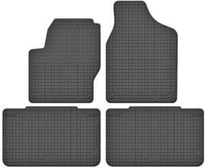 Volkswagen Sharan I (1996-2010) gummimåttesæt (foran og bag)