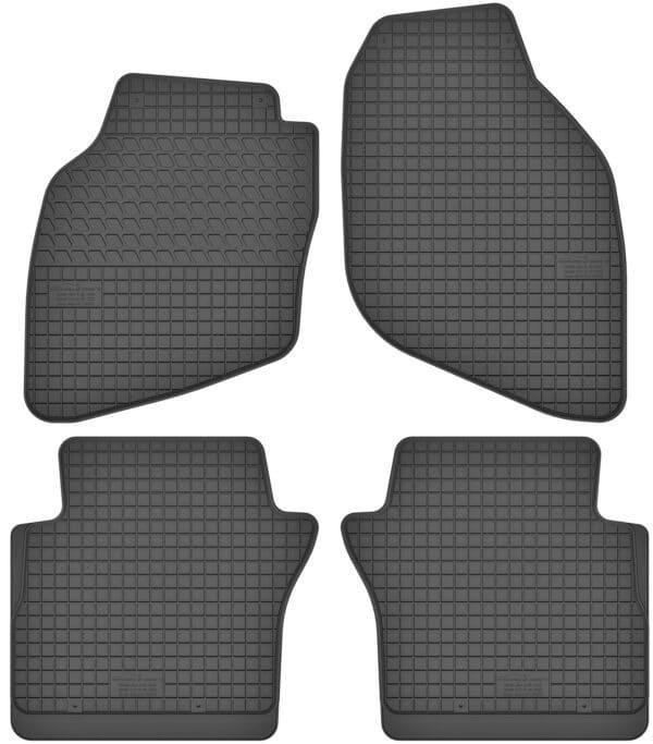 Honda Jazz II (2002-2008) gummimåttesæt (foran og bag)