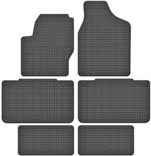Seat Alhambra I 7 per (1996-2010) gummimåttesæt (foran og bag)