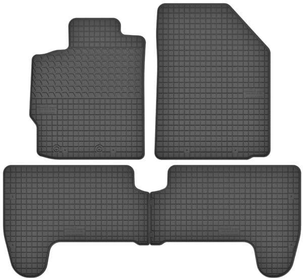 Toyota Yaris II (2005-2011) gummimåttesæt (foran og bag)