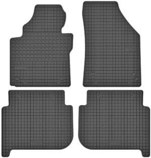 Volkswagen Touran I (2003-2009) gummimåttesæt (foran og bag)