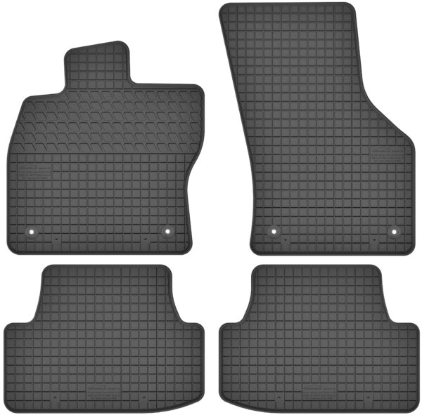 Seat Leon III (fra 2013) gummimåttesæt (foran og bag)