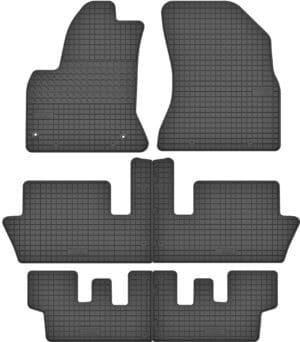 Citroen C4 Picasso I 7 per (2006-2013) gummimåttesæt (alle måtter)