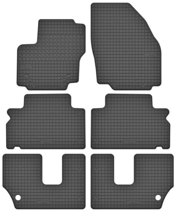 Ford S-MAX I 7 per (2006-2015) gummimåttesæt (alle måtter)