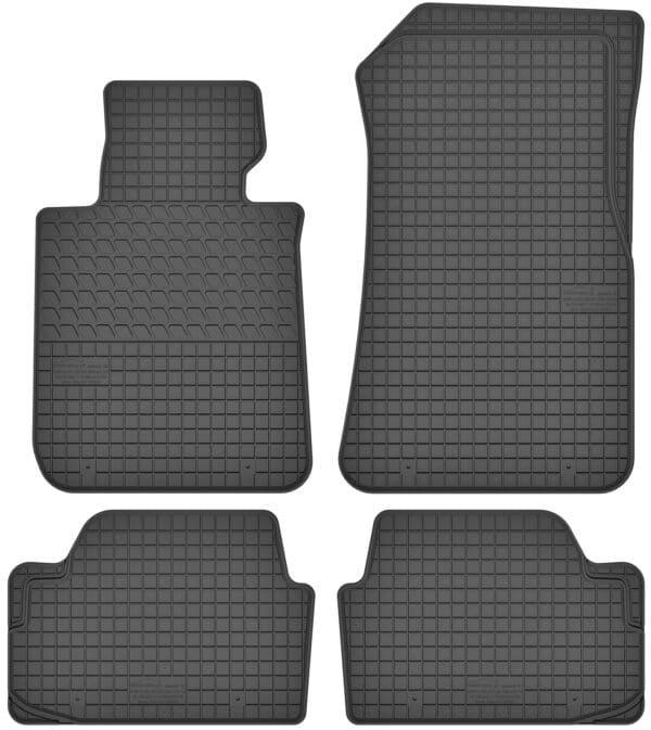 BMW 1-Series E87 (2004-2012) gummimåttesæt (foran og bag)