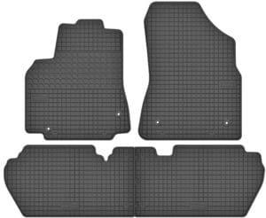 Peugeot Partner II (2008-2018) gummimåttesæt (foran og bag)
