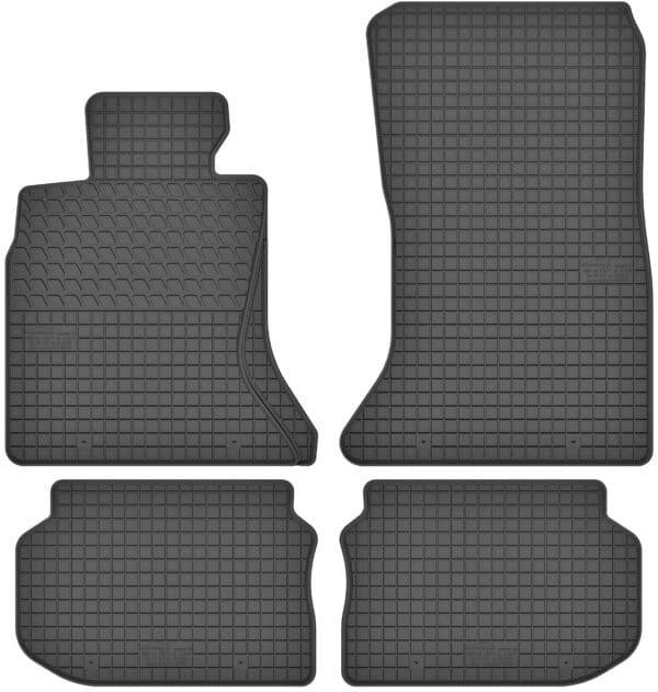 BMW 5-Series F10 (2010-2017) gummimåttesæt (foran og bag)