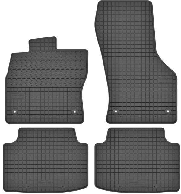 Skoda Octavia III (fra 2013) gummimåttesæt (foran og bag)