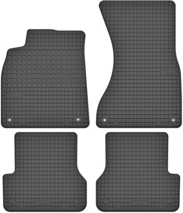 Audi A6 C7 (2011-2018) gummimåttesæt (foran og bag)