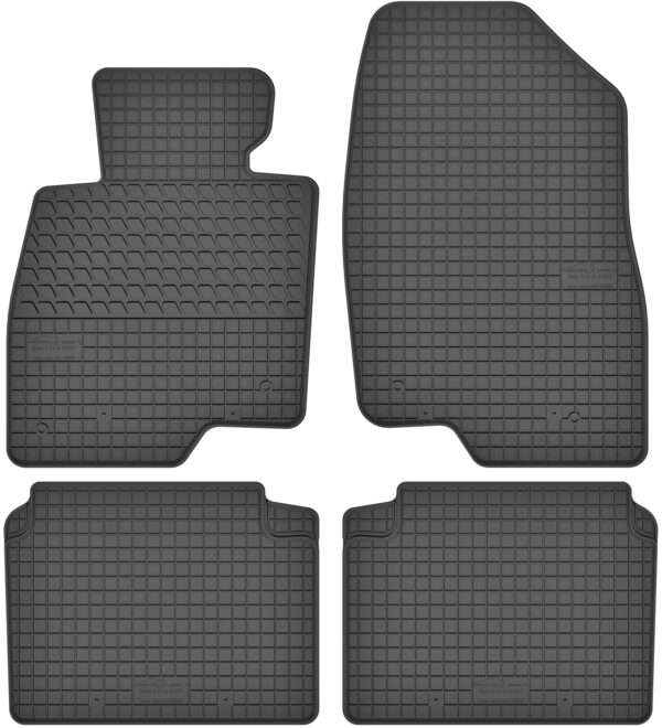 Mazda 6 GJ III (fra 2012) gummimåttesæt (foran og bag)