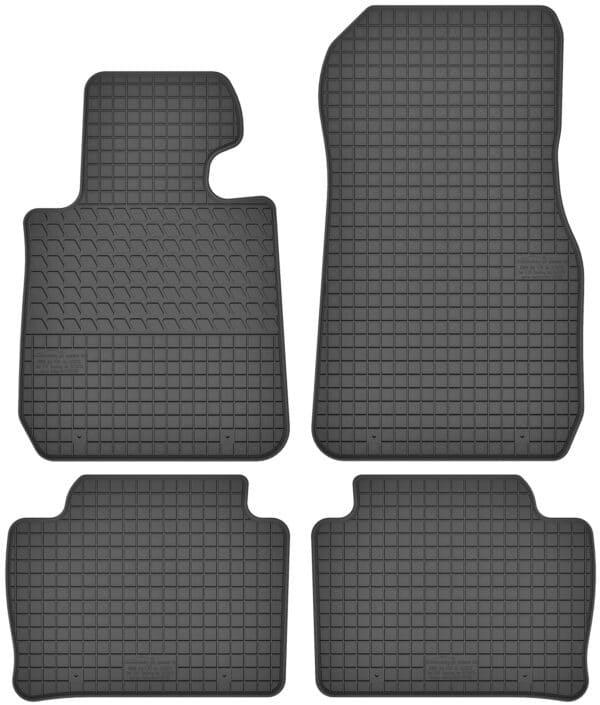 BMW 3-Series F30 (2012-2018) gummimåttesæt (foran og bag)
