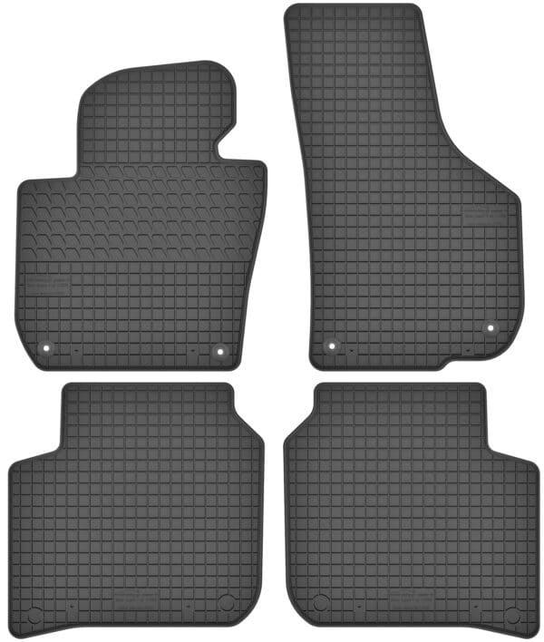 Skoda Superb II (2008-2015) gummimåttesæt (foran og bag)