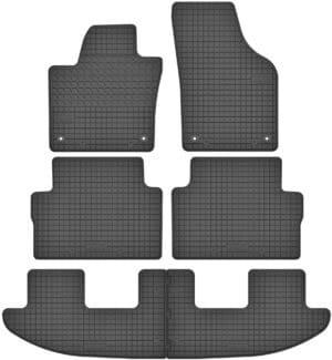 Volkswagen Sharan II 7 per (fra 2010) gummimåttesæt (alle måtter)