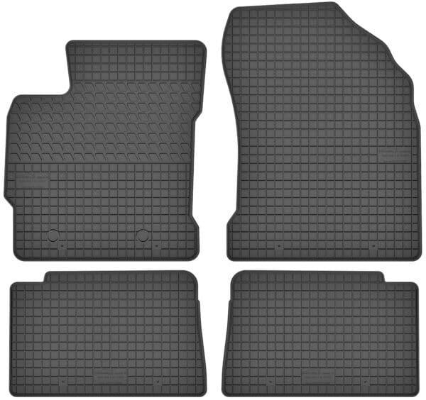 Toyota Auris I (2006-2012) gummimåttesæt (foran og bag)