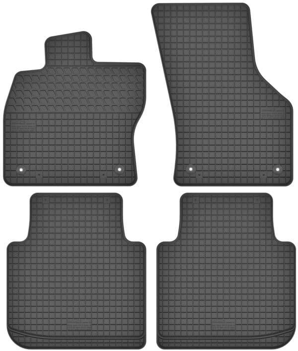Skoda Superb III (fra 2015) gummimåttesæt (foran og bag)