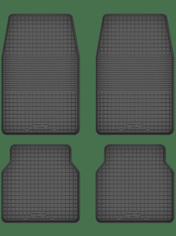Volkswagen Scirocco I (1974-1981) universal gummimåttesæt
