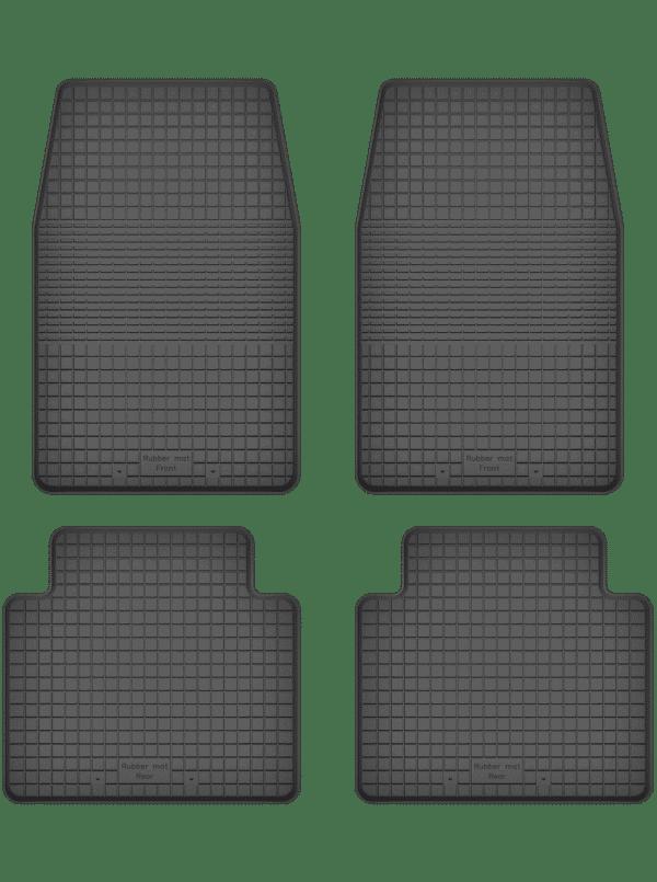 Nissan Navara I (1986-1997) universal gummimåttesæt