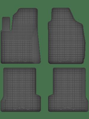 Fiat 500 (fra 2007) universal gummimåttesæt