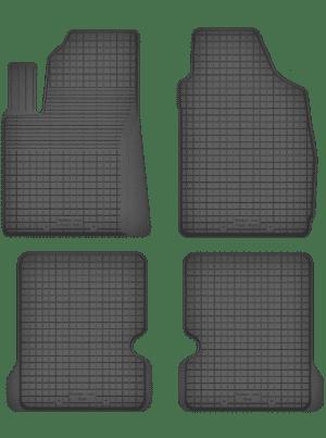 Fiat Panda II (2003-2012) universal gummimåttesæt