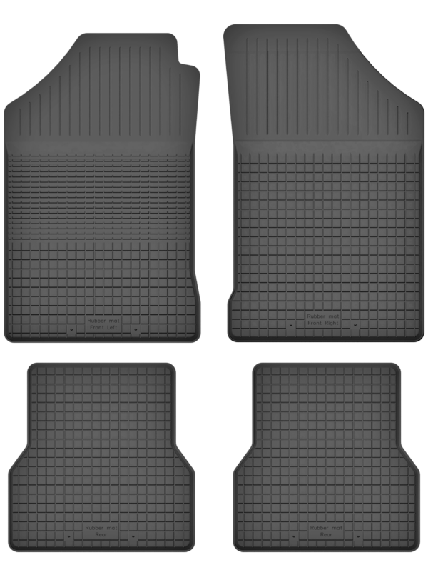 Renault Grand Modus (2008-2012) universal gummimåttesæt