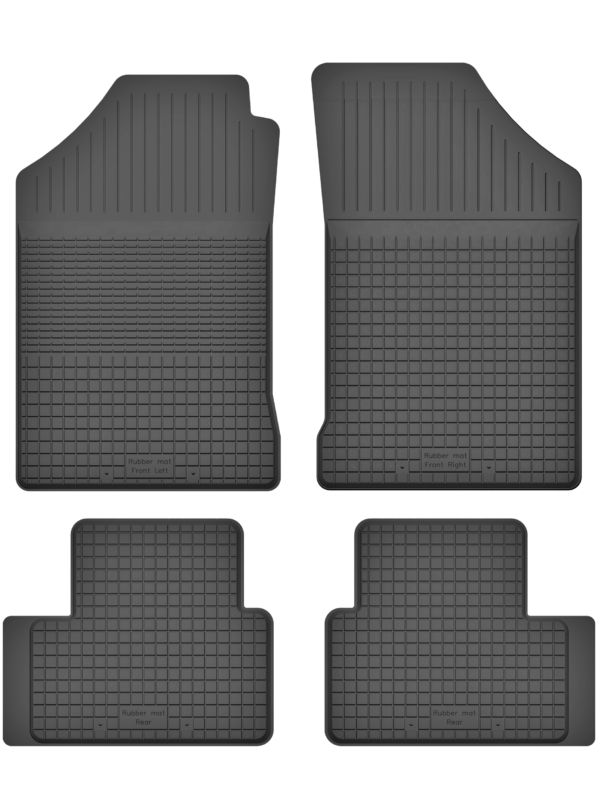 Fiat Punto II (1999-2010) universal gummimåttesæt