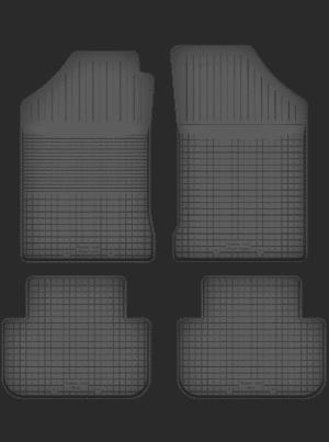 Toyota Starlet (1996-1999) universal gummimåttesæt