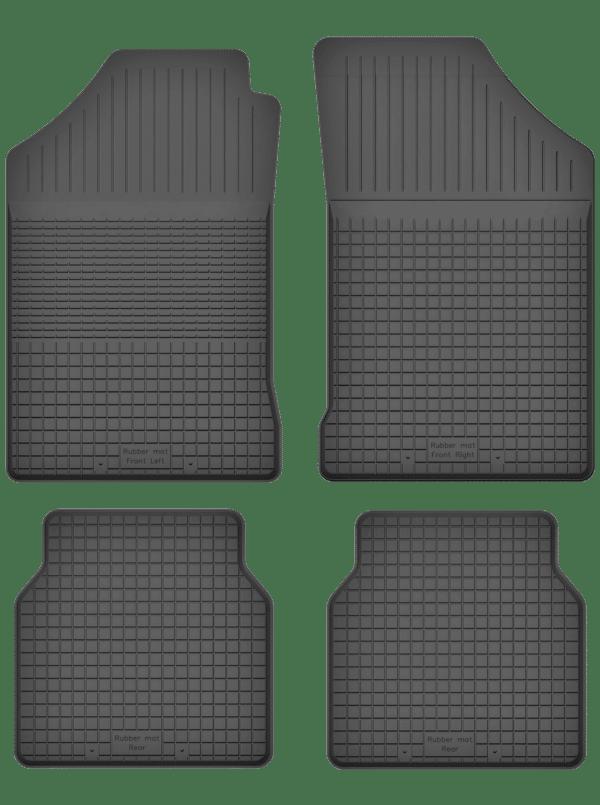 Seat Ibiza I (1985-1992) universal gummimåttesæt
