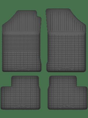 Peugeot 206 (1998-2012) universal gummimåttesæt