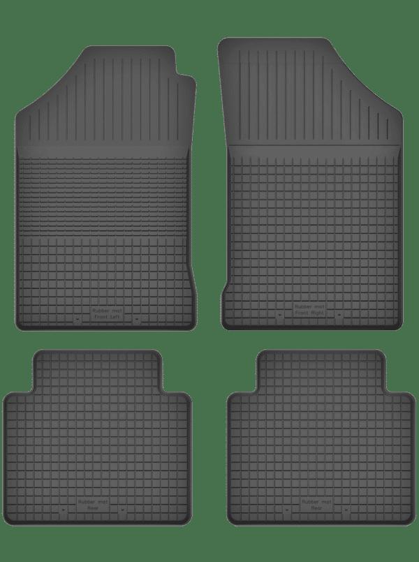 Audi A2 (2000-2005) universal gummimåttesæt