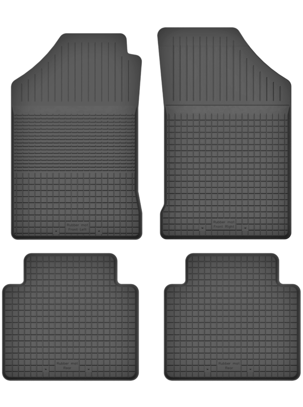 Renault 19 (1988-1996) universal gummimåttesæt