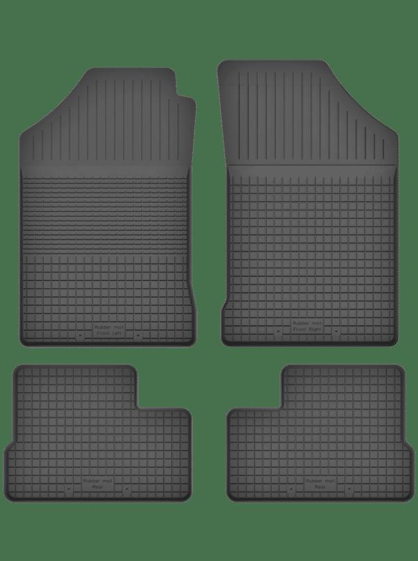 Subaru Justy II (1995-2003) universal gummimåttesæt