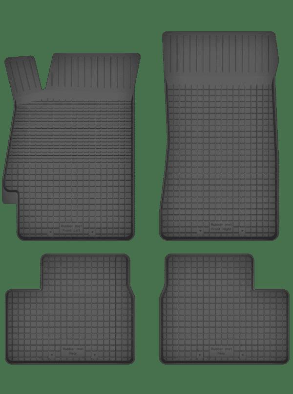 Peugeot 406 (1995-2004) universal gummimåttesæt