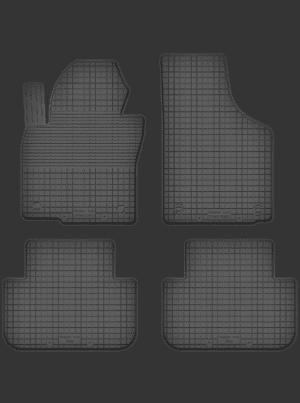 Volkswagen Sharan II (fra 2010) universal gummimåttesæt