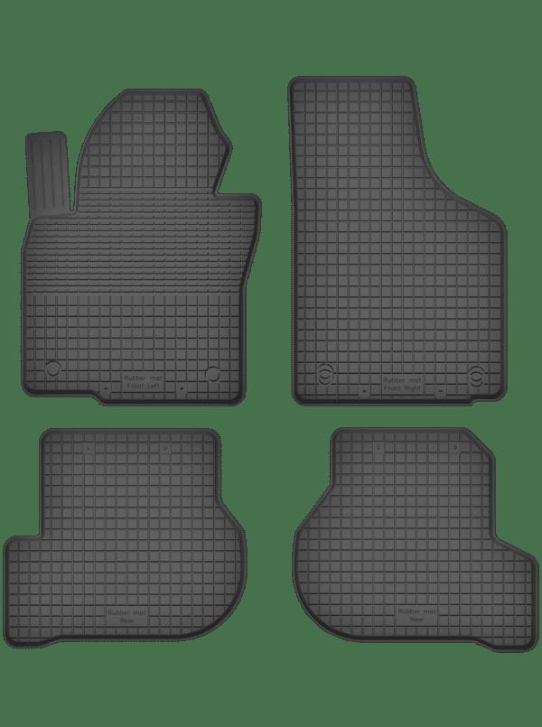 Volkswagen Golf Plus (2005-2013) universal gummimåttesæt