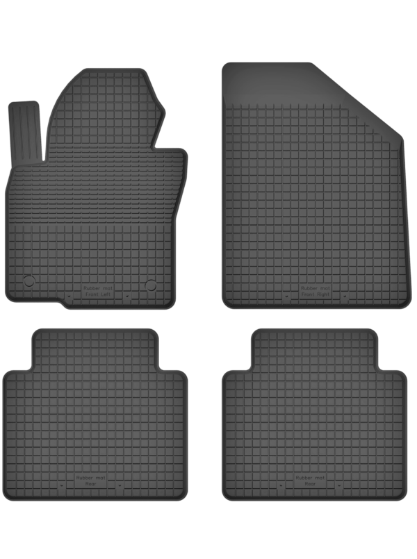 Honda City VI (fra 2013) universal gummimåttesæt
