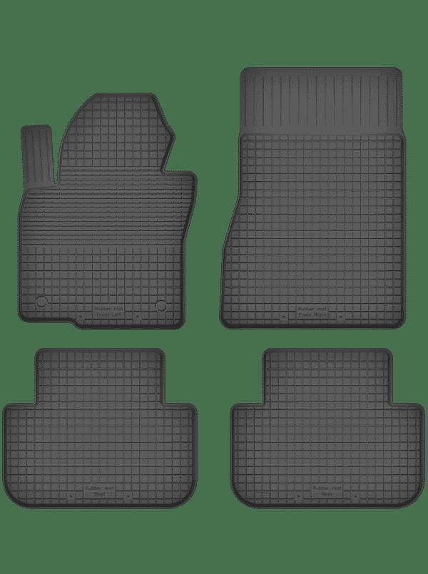 BMW X6-Series E71 (2009-2014) universal gummimåttesæt
