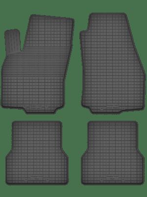 Fiat Doblo II (fra 2009) universal gummimåttesæt
