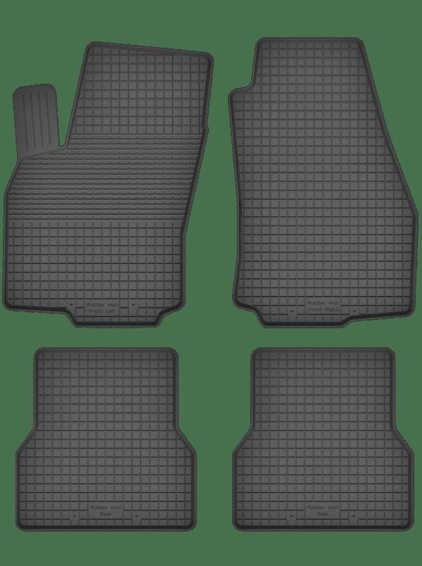 Opel Combo D (2011-2018) universal gummimåttesæt