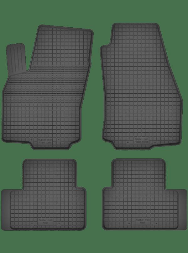 Saab 900 II (1993-1999) universal gummimåttesæt