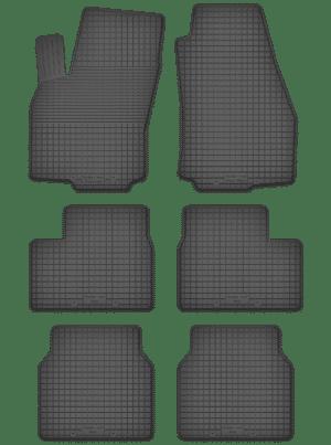 Opel Zafira A 7 per (1999-2005) universal gummimåttesæt