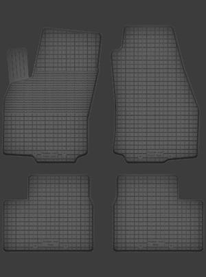 Opel Zafira A (1999-2005) universal gummimåttesæt