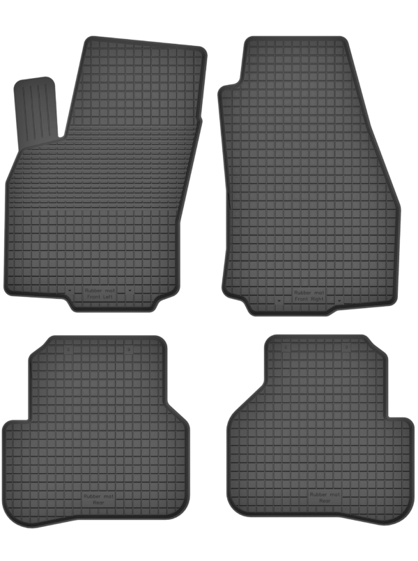 Fiat Fiorino IV (fra 2008) universal gummimåttesæt