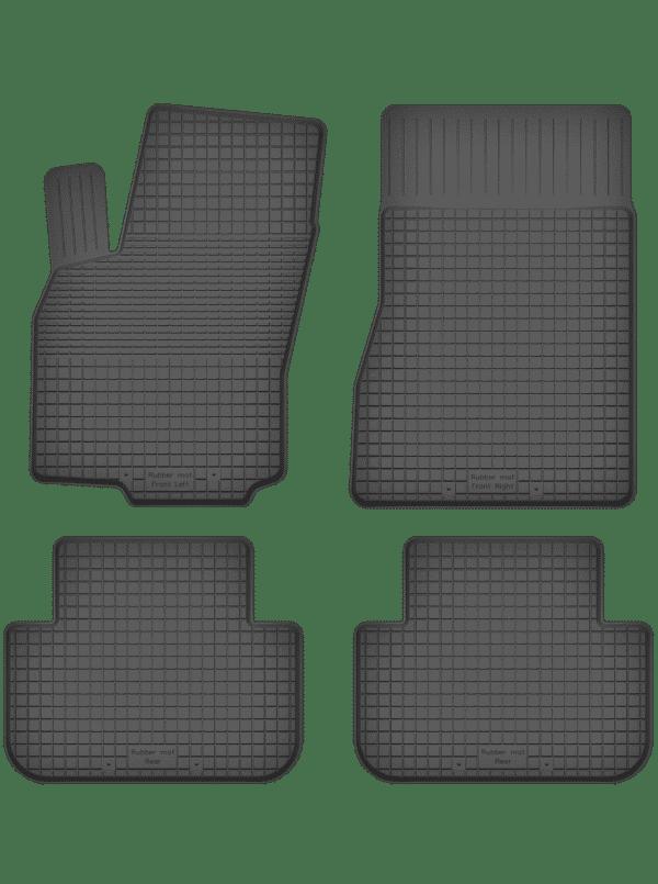 Renault Megane II (2002-2009) universal gummimåttesæt