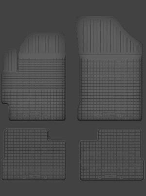 Subaru Justy III (2003-2007) universal gummimåttesæt