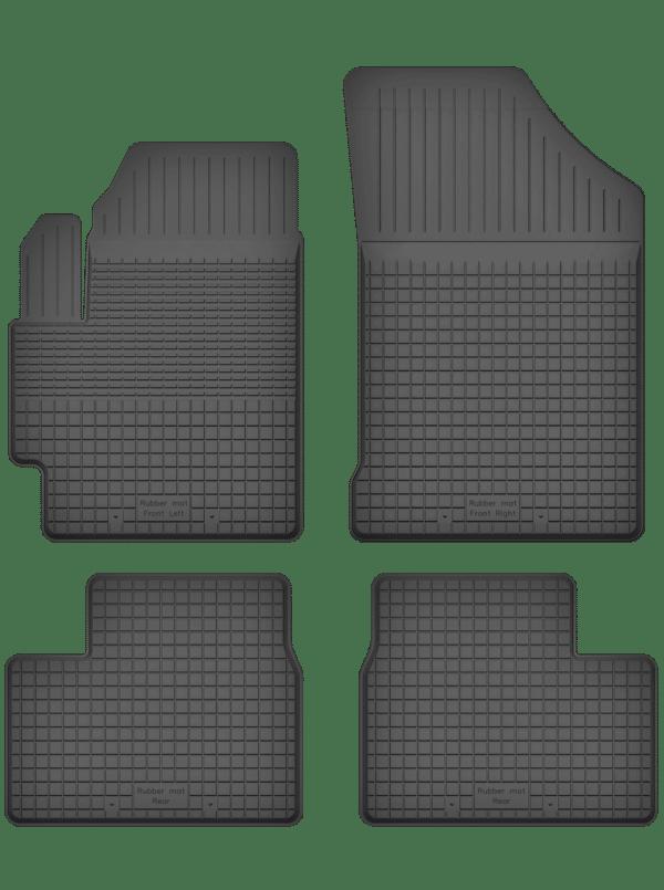 Peugeot 301 (fra 2012) universal gummimåttesæt