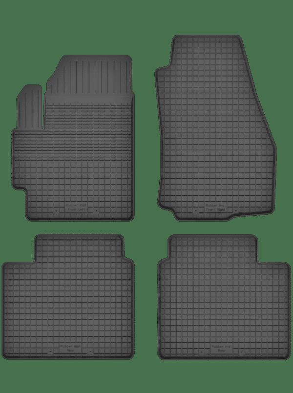 Renault Espace IV (2002-2014) universal gummimåttesæt