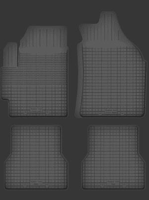 Saab 9-3 I (1998-2003) universal gummimåttesæt
