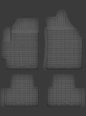 Chevrolet Spark I (2005-2009) universal gummimåttesæt
